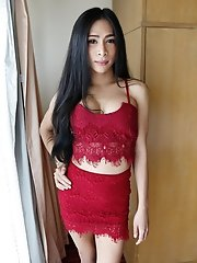 25yo Thai ladyboy loves to suck and get fucked by hard by BWC